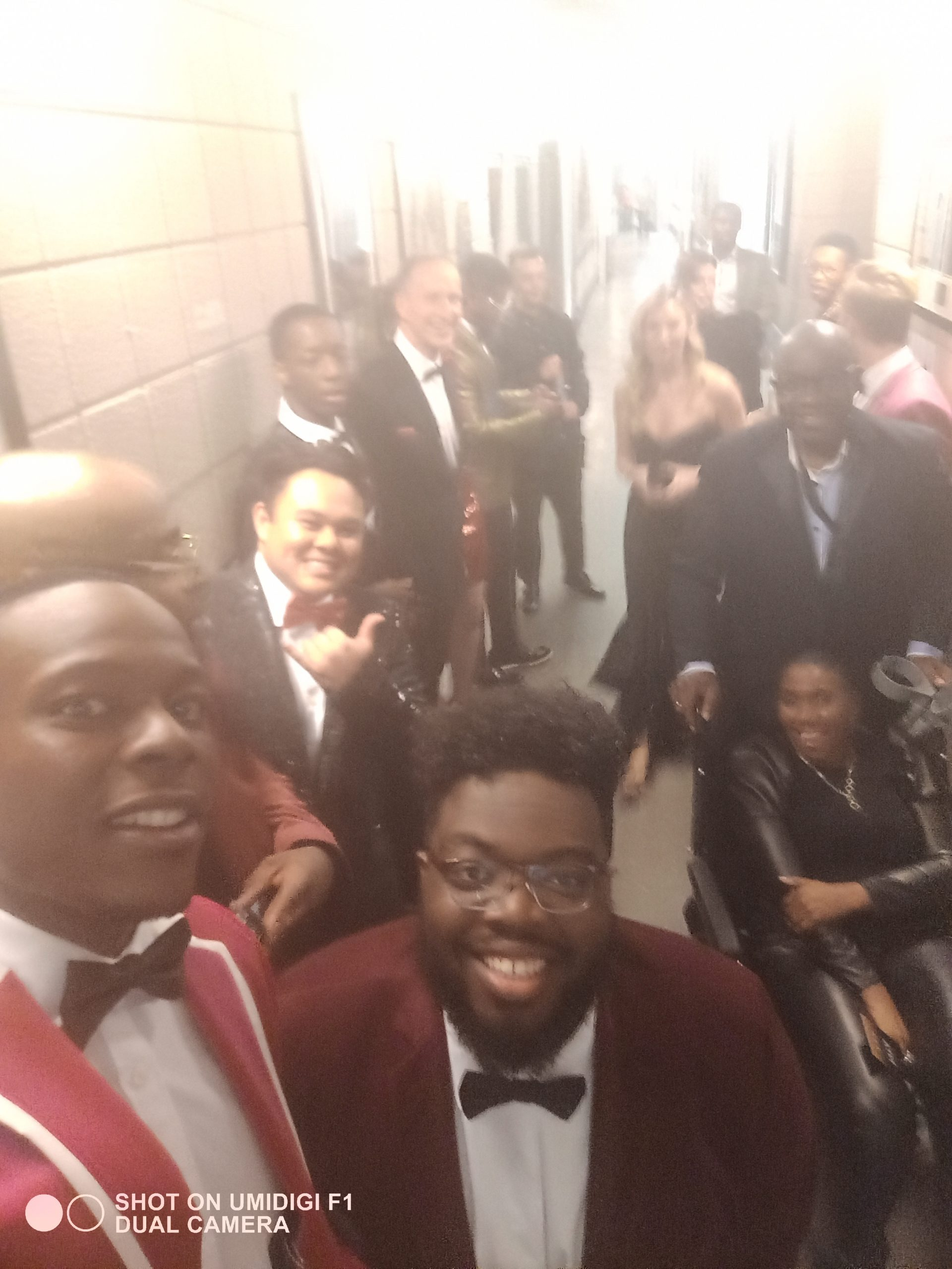 BMI Choir before NTA performance