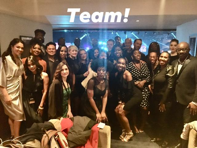 BMI Choir in o2 Lounge (Post performance)